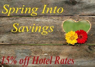 Spring Hotel Sale