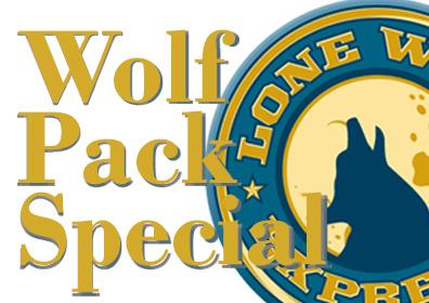 Wolf Pack Special Logo