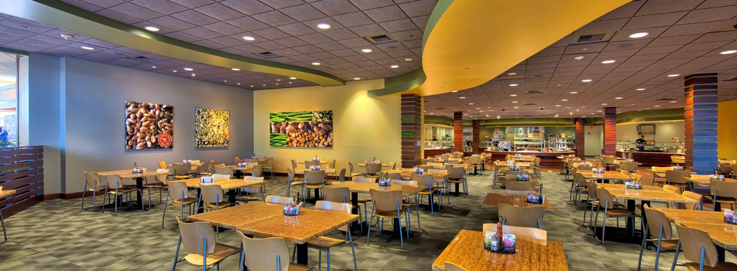 Interior view of the Farmer's Pick Buffet