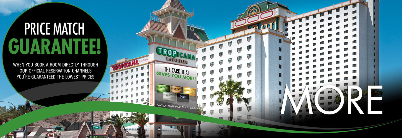 Daylight Photo of Tropicana Laughlin Casino Property