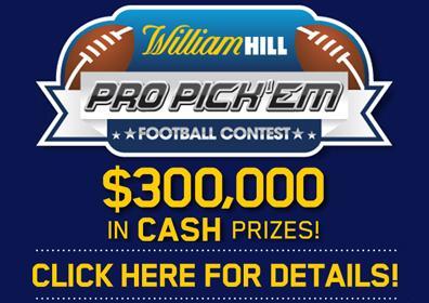 William Hill Pro Pickem Contest Logo