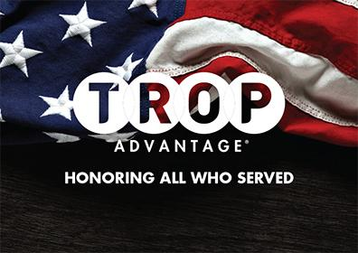 Trop Advantage Veterans Card