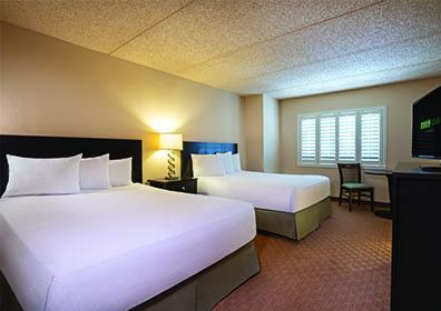 Resort Hotel Room with 2 Queen Beds