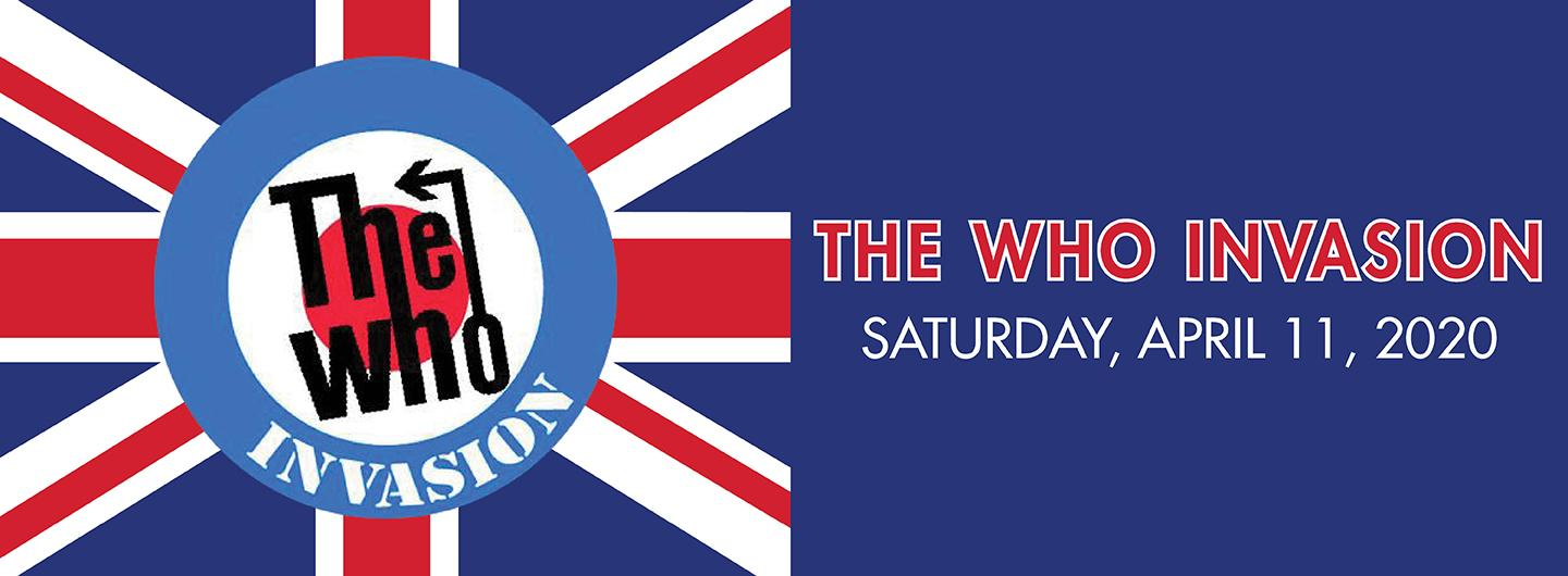 The WHO Invasion Logo