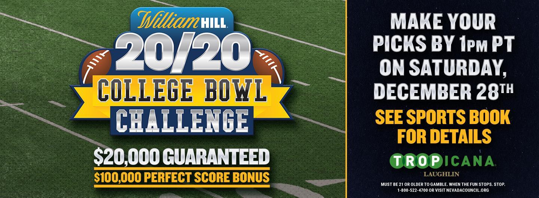 William Hill College Bowl Challenge Logo