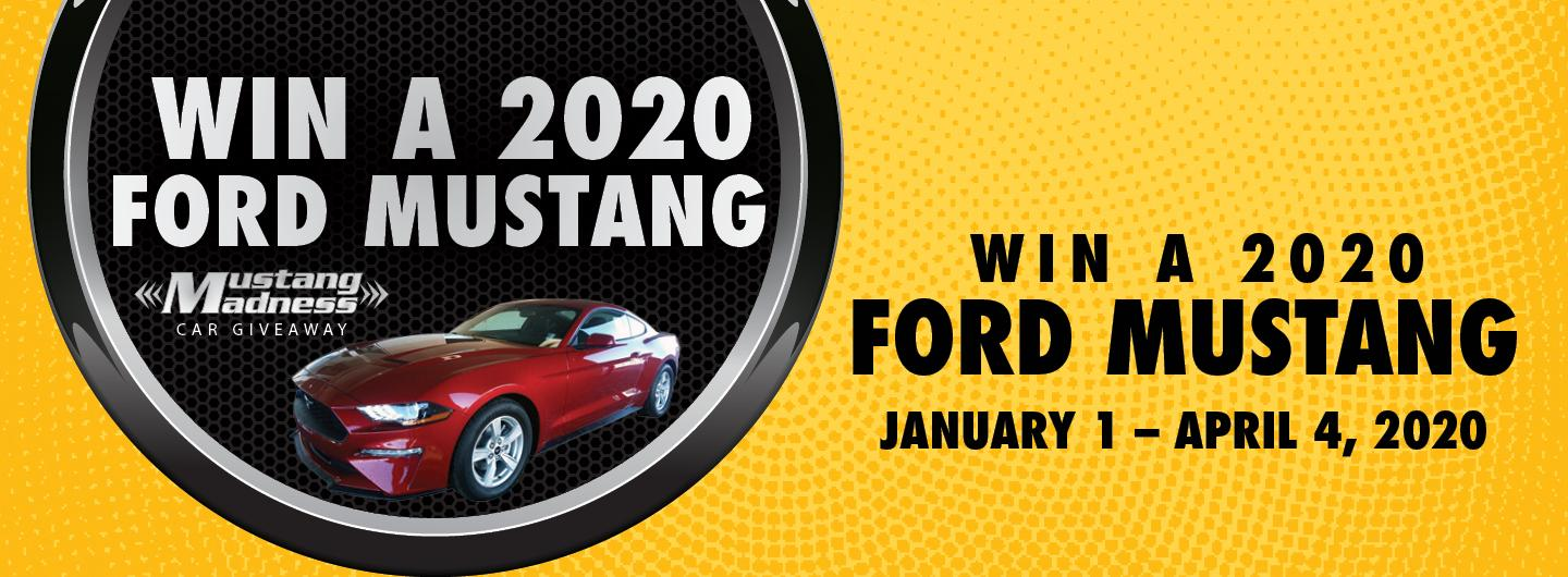 January Ford Mustang Giveaway
