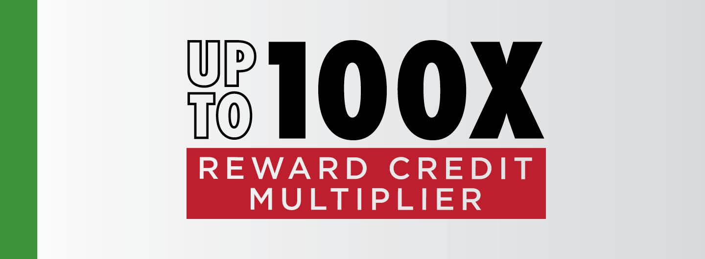 Loyal Locals Up To 100X Reward Credit Multiplier