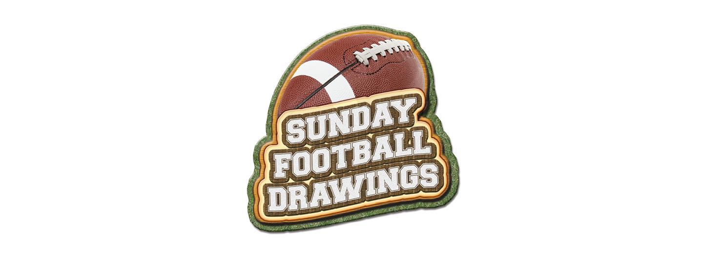 Sunday Football Drawings