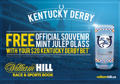 Kentucky Derby Glass Promotion