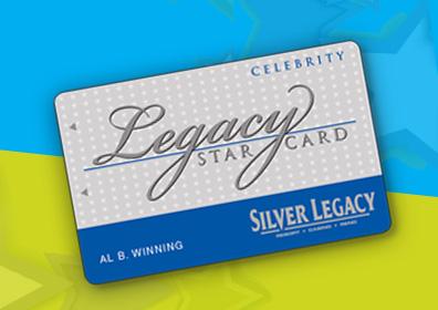 Celebrity Star Rewards Card