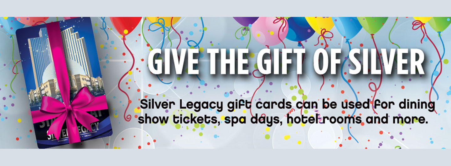 Silver Legacy Gift Card
