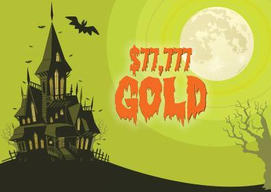 $77,777 Gold Slot Tournament Logo