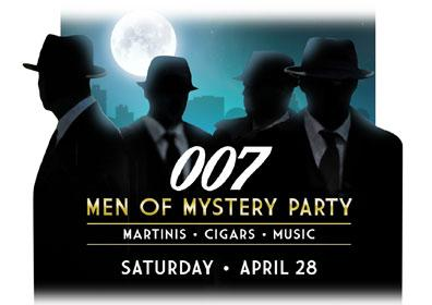 007 Men of Mystery logo