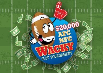 $20,000 AFC NFC Wacky Slot Tournament