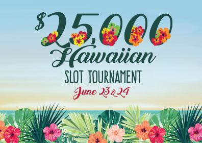 $25,000 Hawaiian Slot Tournament logo