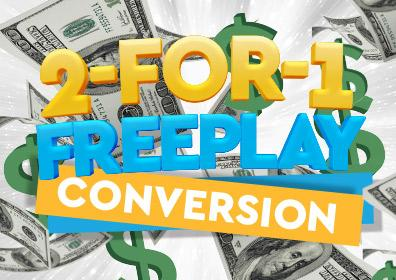 2-for-1 FreePlay Conversion logo