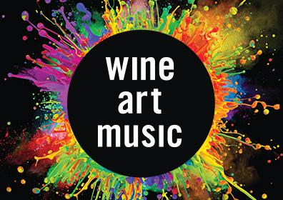 Artrageous Featuring Wine, Art, Music