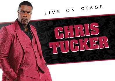 Chris Tucker in Red Suit