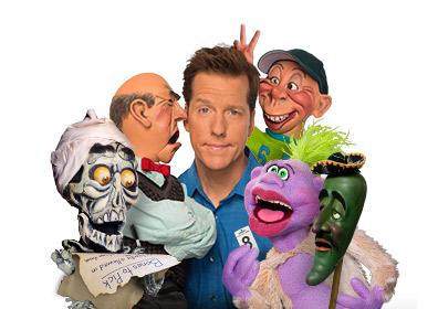 Jeff Dunham with puppets