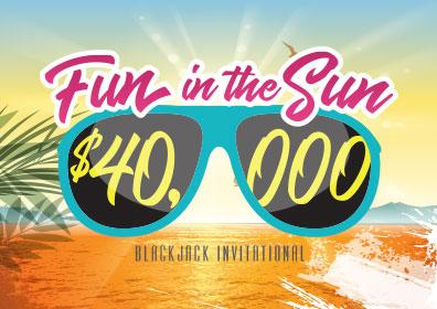 Fun in the Sun Blackjack Invitational logo