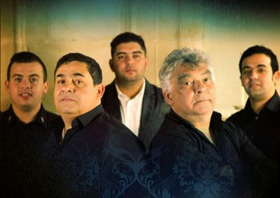 The 5 Members of The Gipsy Kings
