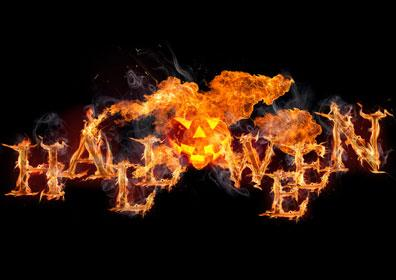 Halloween in Flames