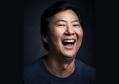 Ken Jeong laughing