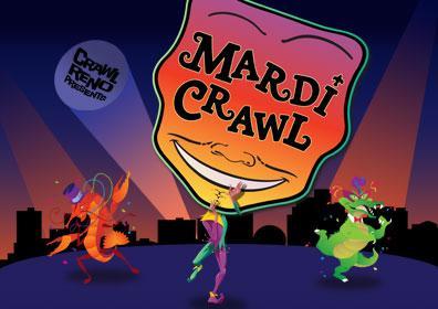 Mardi Crawl logo