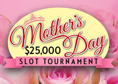 $25,000 Mother's Day Slot Tournament Logo
