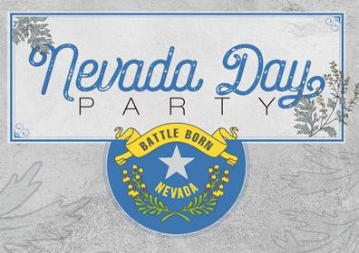 Nevada Day Party logo