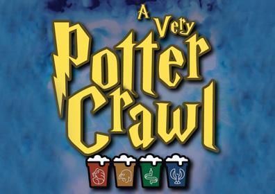 A Very Potter Crawl logo