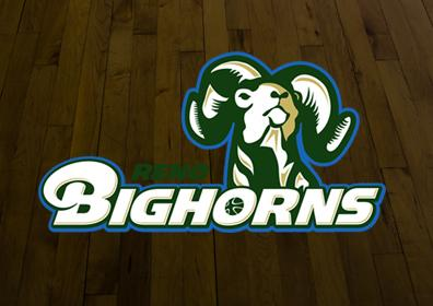 Reno Bighorns D-League Basketball Team Logo