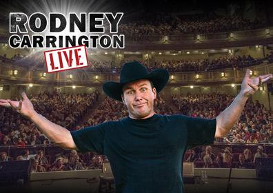 Rodney Carrington live on stage