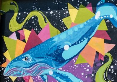 Beautiful mural at Mural Marathon