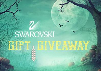 Halloween Swarovski Gift Giveaway Logo