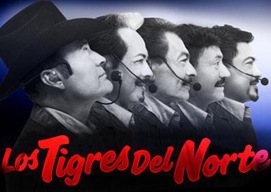 Los Tigres del Norte band posing