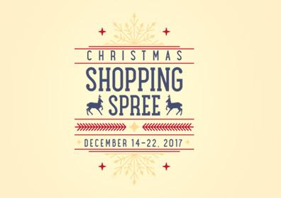 Christmas Shopping Spree logo