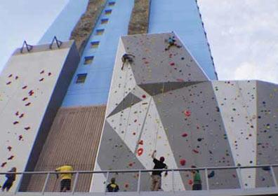 BaseCamp climbing located in Dowtown Reno