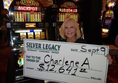 Charlene A. wins $12,641