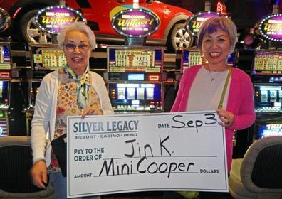 Jin K. wins the Mini Cooper