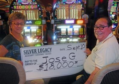 Jose G. wins $18,000