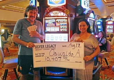 Oswaldo A. wins $10,407