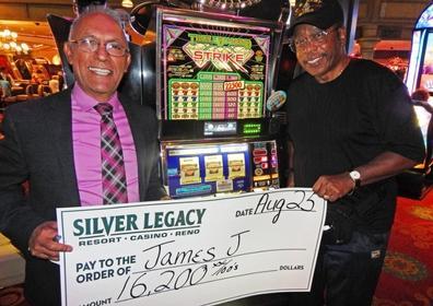 James J. wins $16,200