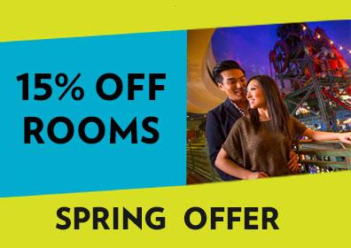 Spring Offer - Up to 15% OFF Rooms