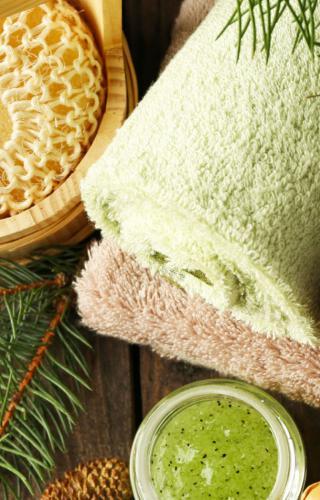 Comfy spa towel