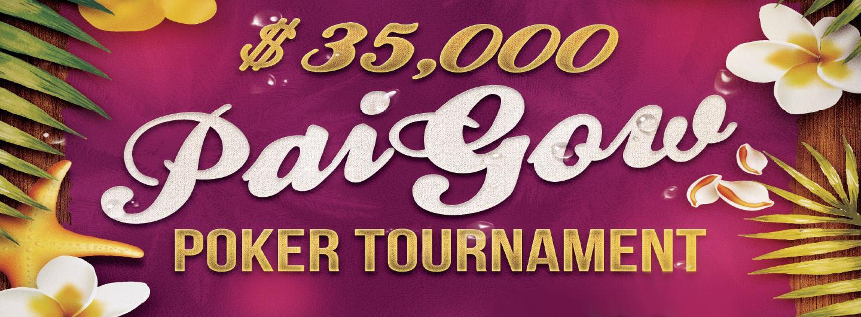 $35,000 Pai Gow Poker Tournament Logo