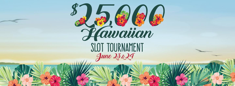 $25,000 Hawaiian Slot Tournament logo