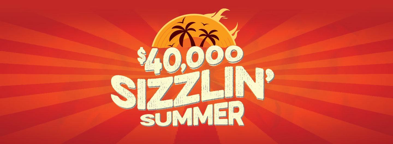 Sizzlin' Summer Slot Tournament logo