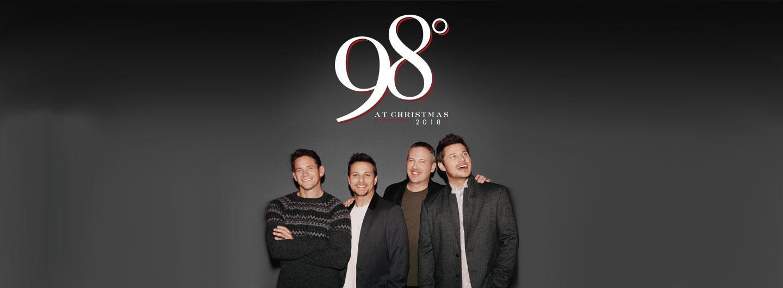 98 Degrees members smiling