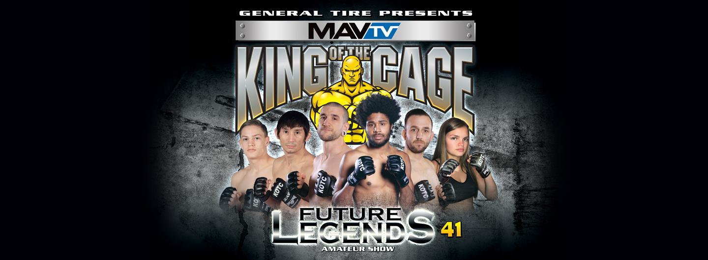 Featured fighters of King of the Cage